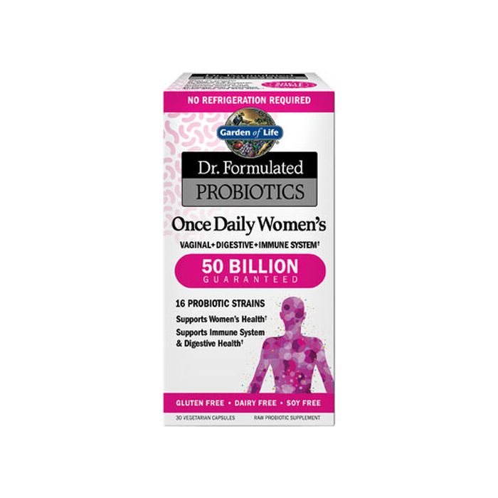 Dr. Formulated Probiotics Once Daily Women's 50 Billion CFU Shelf-stable - 30 Vegetarian Capsules