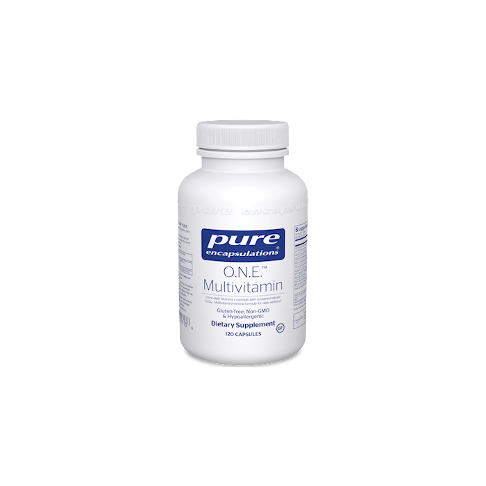 O.N.E Multivitamin 120 Capsules Pure Encapsulations