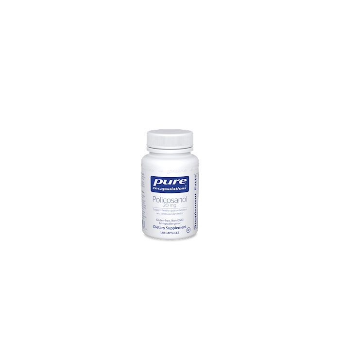 Policosanol 120 capsules Pure Encapsulations