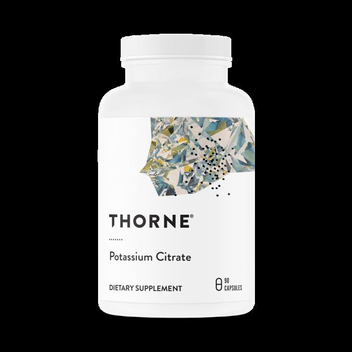 Potassium Citrate 90 Capsules Thorne Research