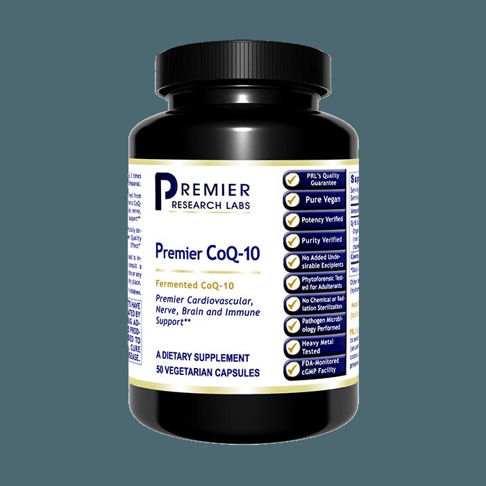 Premier CoQ-10  50 vcaps Premier Research Labs