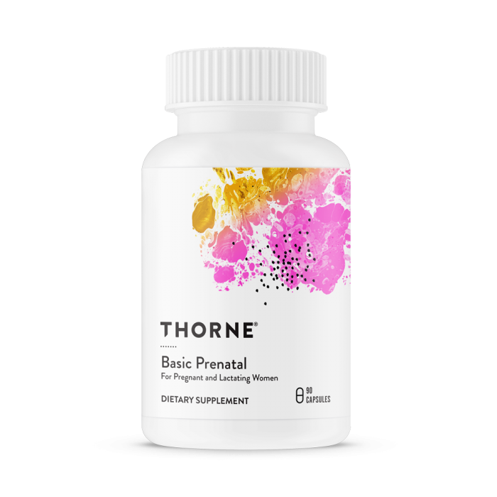 Basic Prenatal 90 Capsules Thorne research