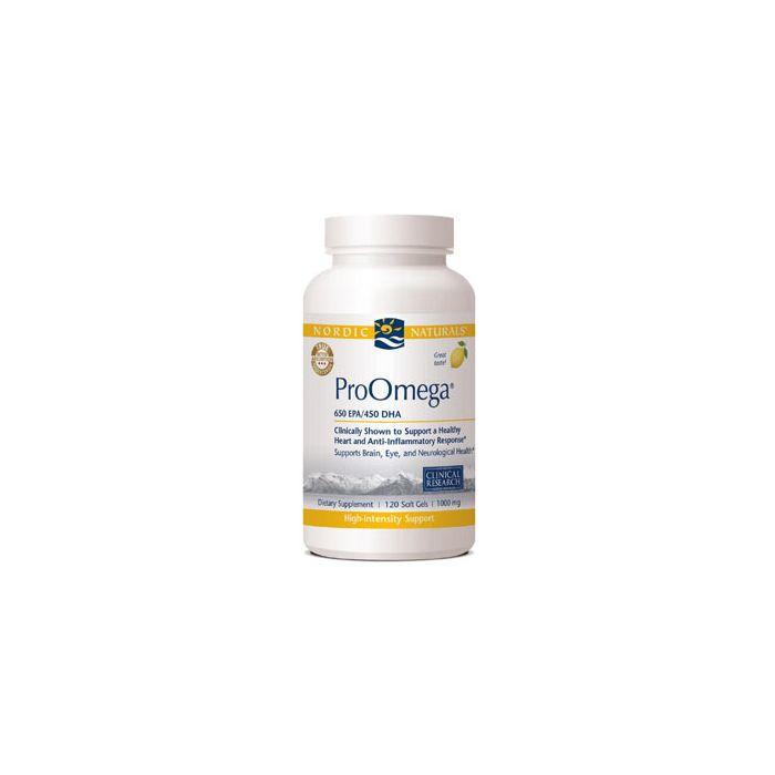 Nordic Naturals ProOmega 120 soft gels 1000 mg