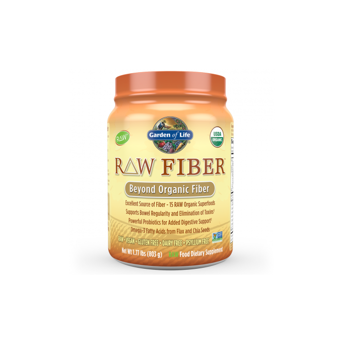 Raw Fiber Organic Powder 803g