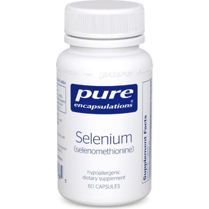 Selenium (Selenomethionine) 200 mcg 60 Capsules Pure Encapsulations