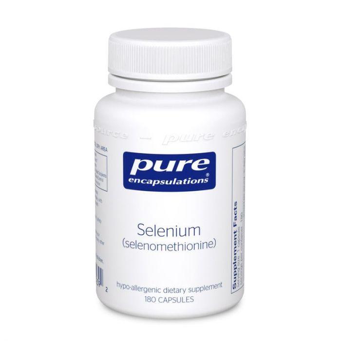 Selenium (selenomethionine) 200 mcg 180 Capsules Pure Encapsulation