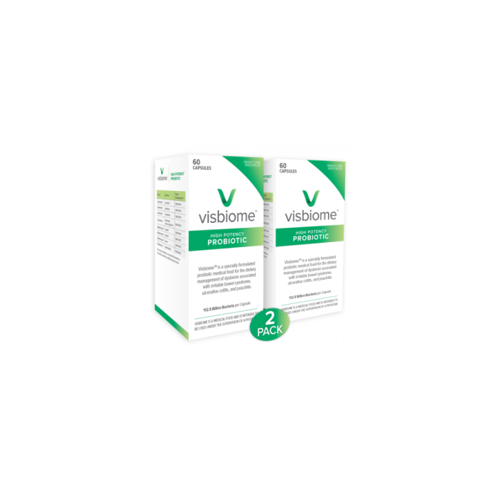 Visbiome Probiotic capsules 2 Pack