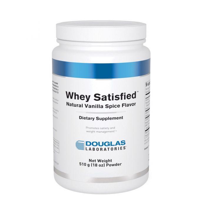 Whey Satisfied Vanilla Spice Flavor 510 g Douglas Labs
