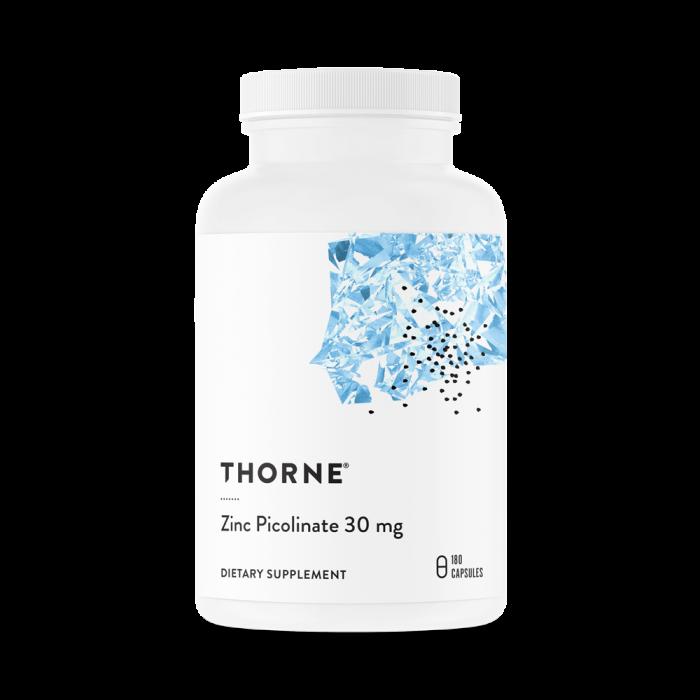 Zinc Picolinate 30 mg 180 Capsules Thorne Research