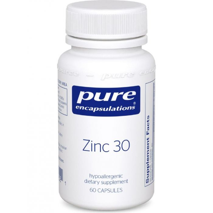 Zinc 30 60 VCaps Pure Encapsulation