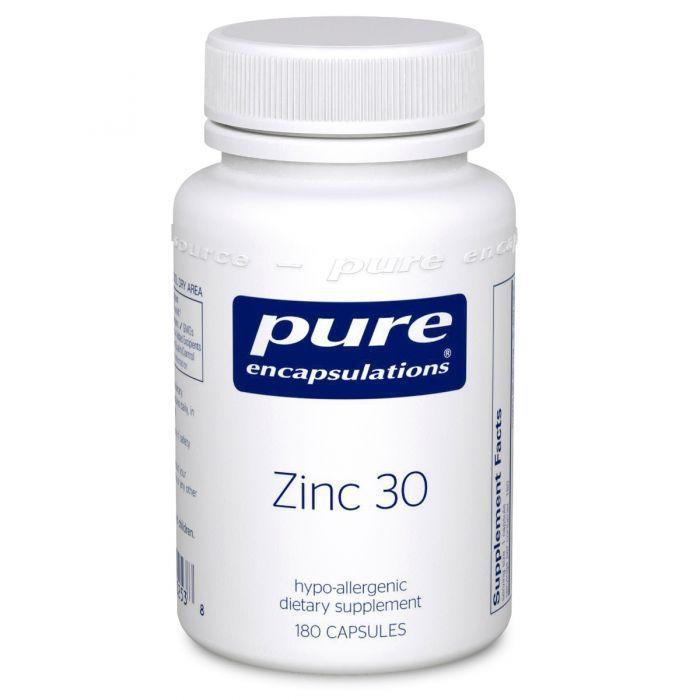 ZINC- 30  180 Capsules Pure Encapsulations