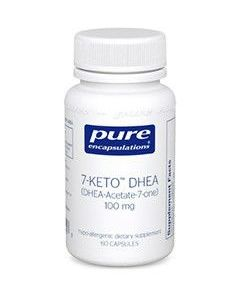 7-KETO DHEA 100mg 60 caps Pure Encapsulations