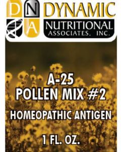 A-25 POLLEN MIX # 2 Homeopathic by Dynamic Nutritiona (DNA Labs)