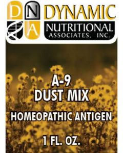 A-9 DUST MIX Homeopathic  by Dynamic Nutritional (DNA Labs)