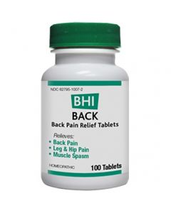 Heel BHI Back Homeopathic Formula 100 Tabs