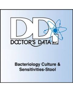 Doctor's Data Bacteriology Culture & Sensitivities-Stool