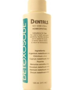 Detoxosode Dentals 4 oz