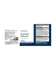 Essential Defense 30 vtabs By Metagenics