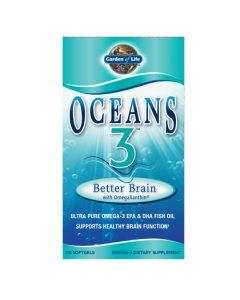 Garden of Life Better Brain Oceans 3 90 Softgels