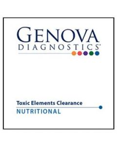Genova Lab Toxic Element Clearance Profile