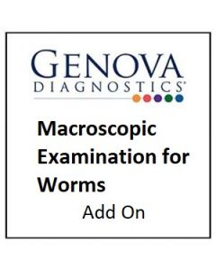 Macroscopic Examination for Worms Add On