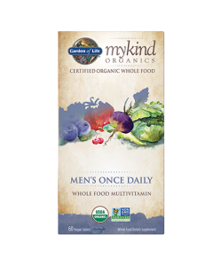 MyKind Organics Mens Once Daily Multi 60 Vegan Tablets