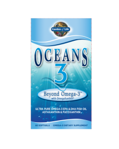 Garden of Life Omega 3  Oceans 3 Beyond  60 Softgels