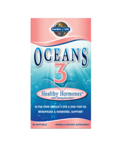 Garden of Life Healthy Hormones Oceans 3  90 Softgels
