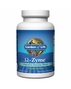 Garden of Life Omegazyme Digestive Enzymes 90 caps