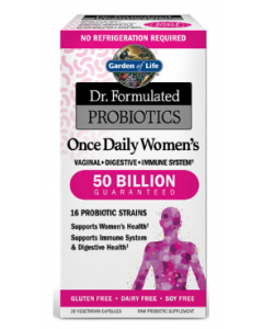 Dr. Formulated Probiotics Once Daily Women's 50 Billion CFU by Garden of Life