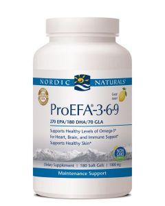 Nordic Naturals ProEFA 3,6,9 180  soft gels 1000 mg each