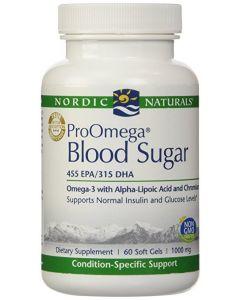 Nordic Naturals ProOmega Blood Sugar 60 Soft Gels 1000mg