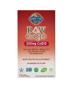 Garden of Life CoQ10 Raw 60 Caps