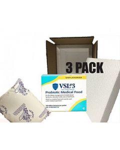 VSL#3 Probiotics Unflavored 30 pack (3 Pack) 450 billion strain
