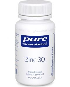 Zinc 30- 60 VCaps Pure Encapsulation